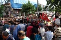 KAZIM ÖZALP - Antalya'da İsrail Protesto Edildi