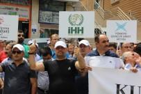 HALITPAŞA - Artvin'de İsrail Protestosu