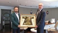 BOŞNAK - Başkan Doğan, Bosnalı Belediye Başkanını Ağırladı