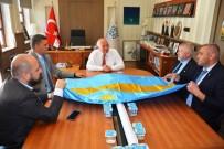 TÜRKLER - Başkan Eşkinat Sekelistan Heyetini Makamında Ağırladı