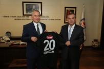 DENIZLISPOR - Başkan Zolan'a Denizlispor Forması