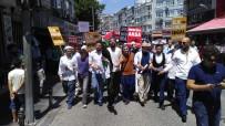 İNİSİYATİF - Bayrampaşa'da Gençler, Mescid-İ Aksa İçin Yürüdü