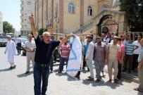 KADIR PERÇI - Birecik'ten İsrail'e Tepki