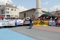 MEMUR SEN - Bolu'da, İsrail Protesto Edildi