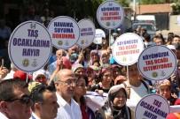 BALCıLAR - Buca Kırıklar'da Taş Ocağı İsyanı