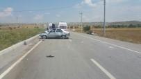 MUSTAFA ASLAN - Çavdarhisar'da Trafik Kazası Açıklaması 6 Yaralı