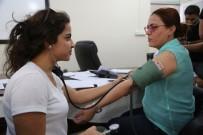 İŞ SAĞLIĞI VE GÜVENLİĞİ KANUNU - Cizre Belediyesi Personeli Sağlık Taramasından Geçirildi