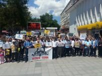 PROTESTO - Çorum'da Mescid-İ Aksa'nın İbadete Kapatılmasına Tepki