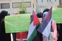 HAMZA ÖZTÜRK - Denizli'de Mescid-İ Aksa'ya Yapılanlar Protesto Edildi