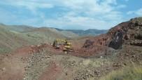 ORMAN VE SU İŞLERİ BAKANI - Erzincan Kemah Tuzlaköy Barajında Çalışmalar Devam Ediyor