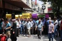 GAZILER - Gaziantep'te Mescid-İ Aksa Protestosu