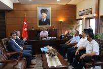 EREĞLI DEMIR ÇELIK - GMİS'ten Vali Çınar'a Ziyaret