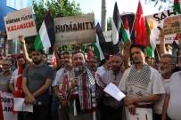 KAZIM ÖZALP - İsrail'e Protestolar Sürüyor