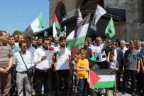 PROTESTO - İsrail Edirne'de Protesto Edildi