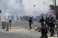 PLASTİK MERMİ - İsrail Güçleri İle Filistinliler Arasında Çatışma Çıktı