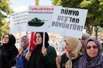 GIYABİ CENAZE NAMAZI - İsrail'in Mescid-İ Aksa Kararı Başkent'te Protesto Edildi