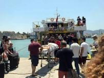 İSTANKÖY - İstanköy Adası'ndan İlk Türk Kafilesi Bodrum'a Geldi
