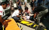 ZEKİ MÜREN - Kamyonetle Çarpışan Bisikletli Çocuk Yaralandı