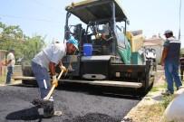 ERTUĞRUL ÇALIŞKAN - Karaman Belediyesi Asfalt Çalışmalarını Sürdürüyor