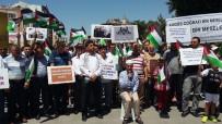 PROTESTO - Karamanlı STK'lardan İsrail'e Mescid-İ Aksa Protestosu