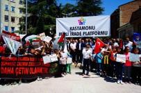 KUDÜS - Kastamonu Milli İrade Platformu'ndan İsrail'e Tepki