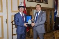 KıRGıZISTAN - Kırgız Başkonsolostan Büyükşehir'e Ziyaret