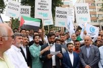 CUMA NAMAZI - Kocaeli'de Cuma Namazı Çıkışı İsrail Protesto Edildi