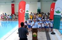 BELEDİYESPOR - Minik Yüzücülere Sertifika