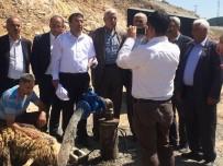ŞEBEKE HATTI - Sarıkamış'ın 100 Yıllık İçme Suyu Sorunu Çözülüyor