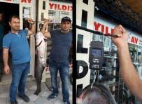 AMATÖR BALIKÇI - Tam 44 Kilo Açıklaması Güçlükle Taşıdılar