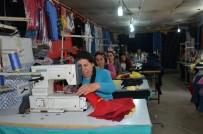 TEKSTİL ATÖLYESİ - Tandır Evini Tekstil Atölyesine Çevirdi