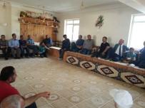GÖKÇEDERE - Tarım İl Müdürü, Gökçedere'de Kurbanlık Yetiştiricileri İle Toplantı Yaptı