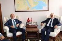 TRABZONSPOR - Trabzonspor Başkanı Muharrem Usta, Düzce'de