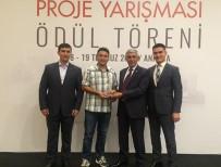 BELDE BELEDİYESİ - Tunçbilek Projesine Ödül Geldi