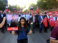 PÜLÜMÜR ÇAYı - Tunceli'de 'Teröre Lanet Yürüyüşü'