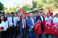 MUHARREM İNCE - Tunceli'de 'Terörü Protesto Yürüyüşü'