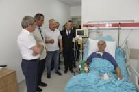 AHMET ÇıNAR - Vali Çınar, İbn-İ Sina Kampüsünü Gezdi