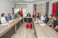 BELEDİYESPOR - Vali Zorluoğlu'ndan Van Büyükşehir Belediyespor Tesislerine Ziyaret