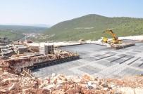 EREN ARSLAN - Yeni Milas Devlet Hastanesi İnşaatı Sürüyor