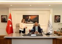 HUKUK DEVLETİ - Adalet Bakanı Gül'den Şahin'e Ziyaret
