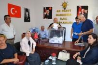 SEÇİM SÜRECİ - Ak Parti'den Delege Seçimleri Yapıldı