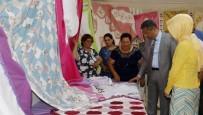 GÜNDOĞDU - Akdeniz Belediyesi Kursiyerlerinden Dönem Sonu Sergisi