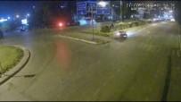 POLİS EKİPLERİ - Alkollü Sürücü Dehşeti Kamerada