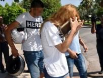 AKDENIZ ÜNIVERSITESI - Antalya'da 'Hero' tişörtü giyen 2 üniversiteli gözaltında
