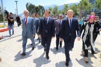 ÇAVUŞOĞLU - Başbakan Yardımcısı Çavuşoğlu'dan Büyükşehir'e Ziyaret