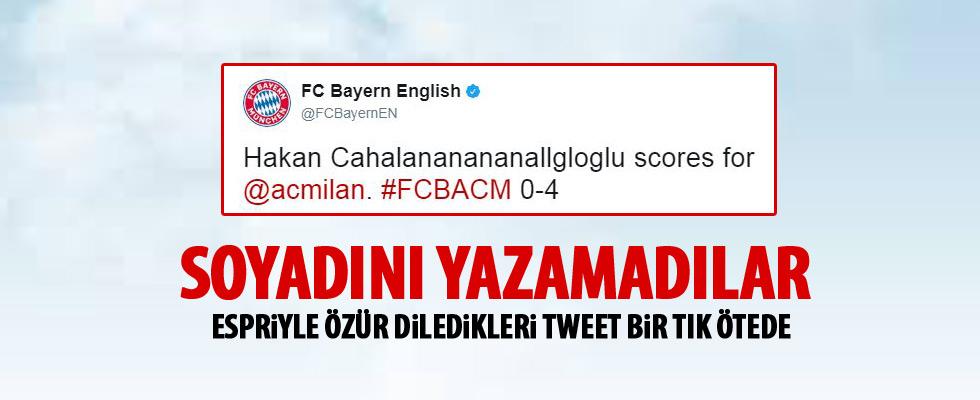 Bayern Münih, Hakan Çalhanoğlu'nun soyadını yazamadı!