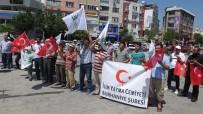 İLİM YAYMA CEMİYETİ - Burhaniye'de Mescidi Aksa'ya Sahip Çık Mitingi Yapıldı