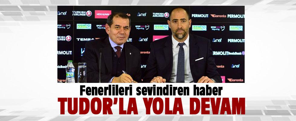 Dursun Özbek: Galatasaray Tudor ile devam edecek