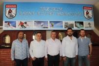 ÜLKER - Erzurum Kayak Kulübünde Görev Değişimi