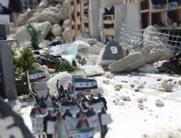MINYATÜR - Hollanda'da 'Halep'i Yaşa' minyatür sergisi